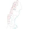 Lantmäteriet W1 Grövelsjön-Lofsdalen